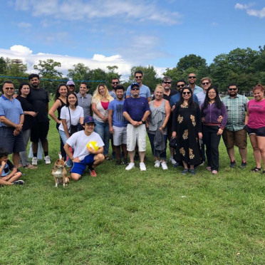 The 2019 company picnic in New York.