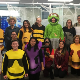The 2018 Halloween party and costume contest in our Richmond office