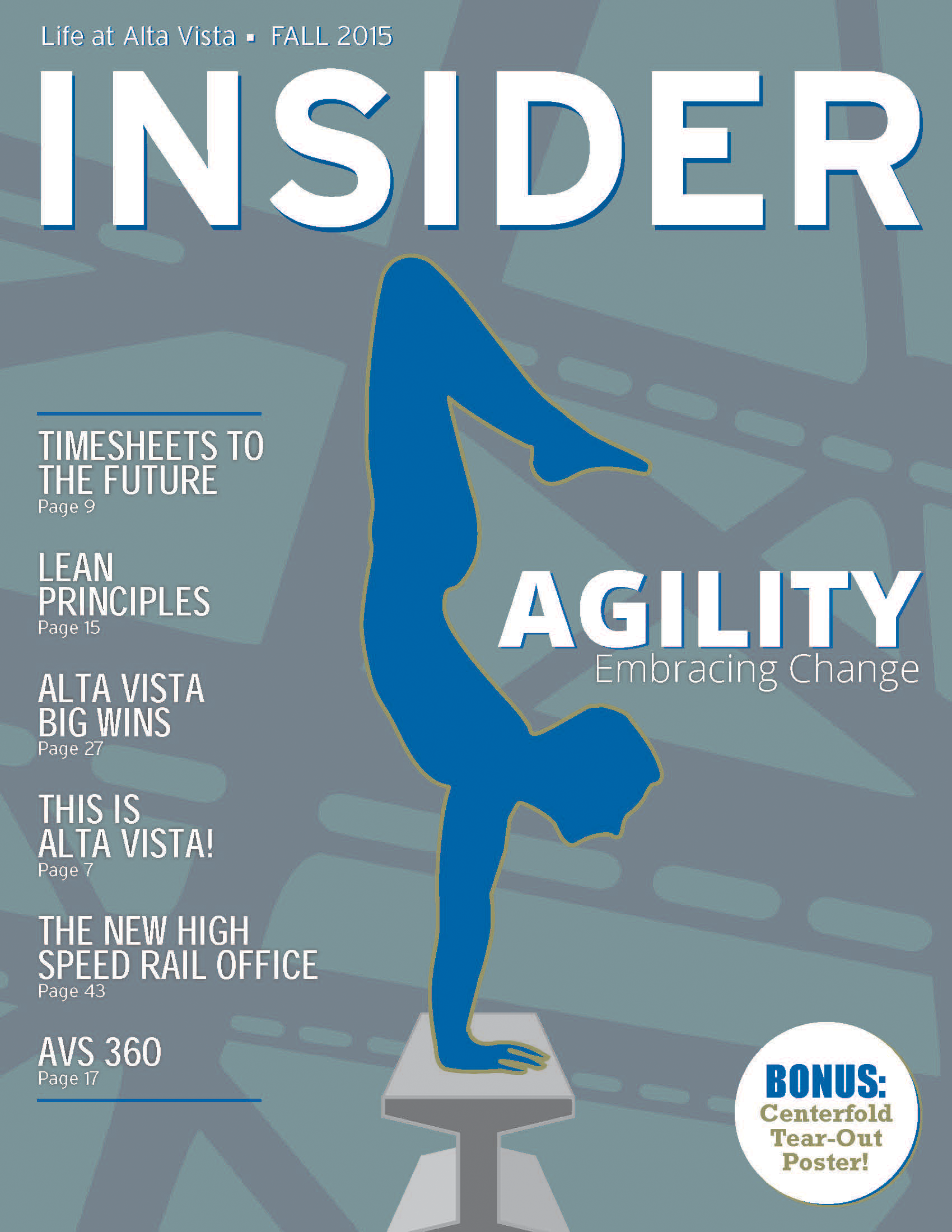 Insider Fall 2015 edition: Agility (Click to view this issue)