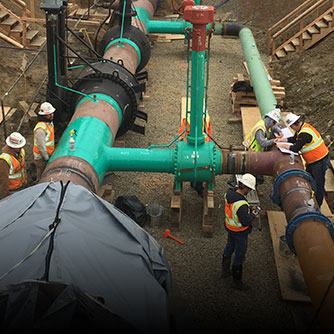 Pipeline inspection for the Sacramento Municipal Utility District (Click for more info on this project)